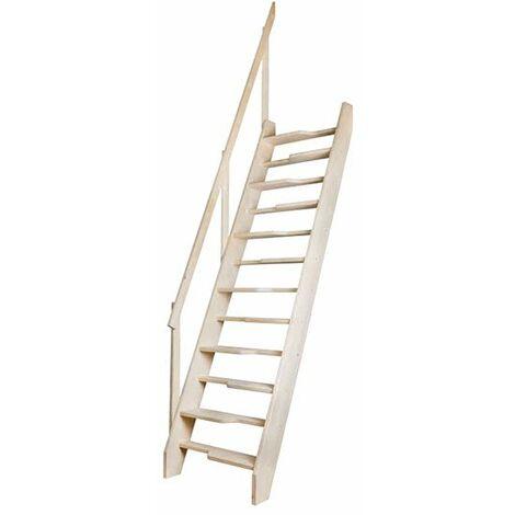 A. Escalier de meunier sans main courante