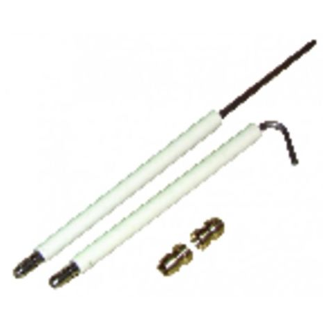 A pair of electrodes WG1/2 (X 2) - DIFF for Weishaupt : 1311011413/7