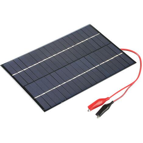 A partir de la celula solar del panel solar 4.2W 18V De A De bricolaje cargador de energia