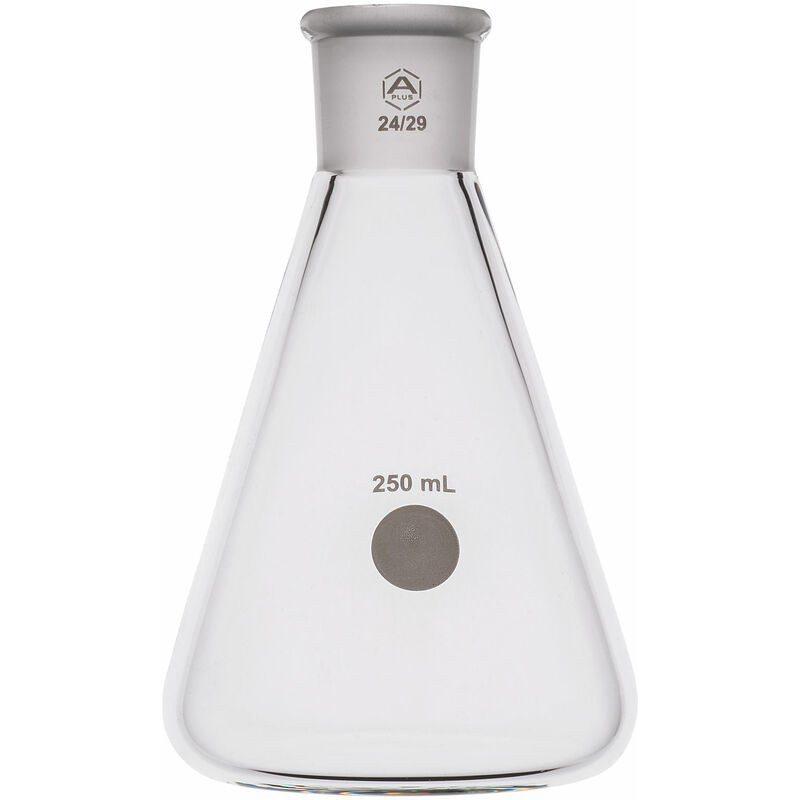 Image of Jointed Erlenmeyer Flask 250ml, 24/29 - A Plus