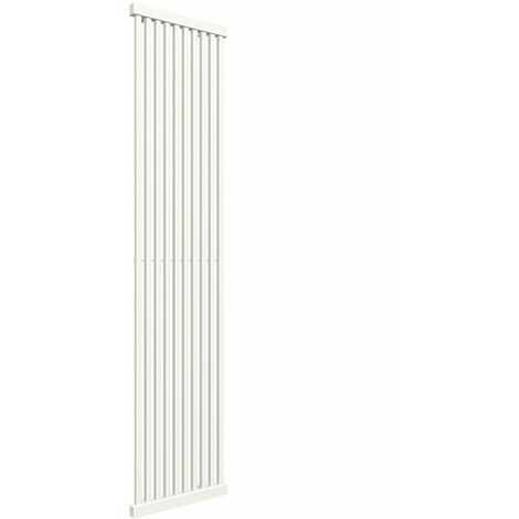 A. Radiateur vertical chauffage central couleur au choix de 1900mm de haut et 650mm de large.