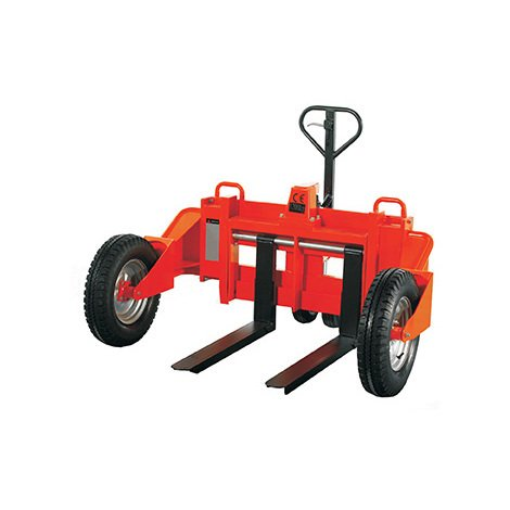 A. Transpalette tout-terrain - Charge 1200kg - Fourches 860x212-735mm