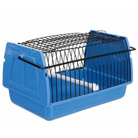 a transport cage 22 x 14 x 15 cm for rodents and birds