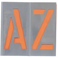 A - Z Letters Stencil Sets
