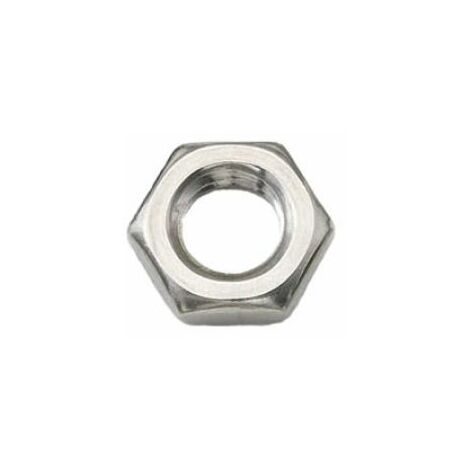 A2 Grade stainless Hexagon half nuts