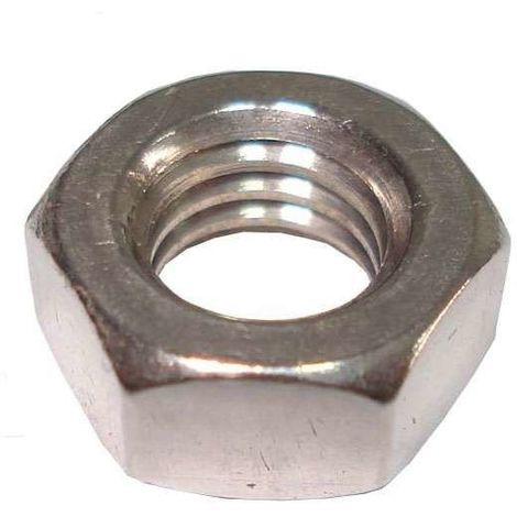 A2 Grade stainless Hexagon nuts - left hand thread