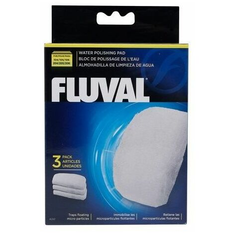 A242 - Fluval Polishing Pad for 104/5/6 & 204/5/6 (3pcs)