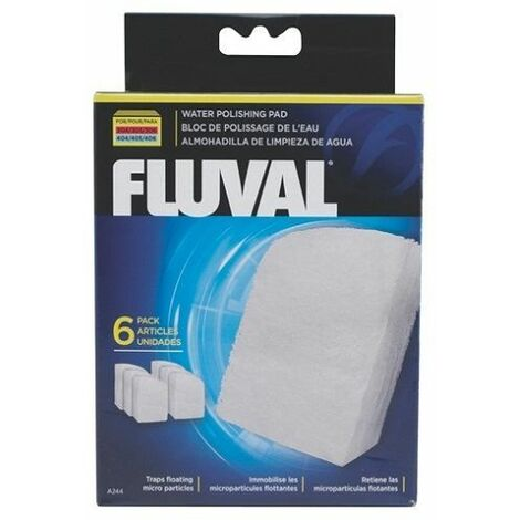 A244 - Fluval Polishing Pad for 304/5/6 & 404/5/6 (6pcs)