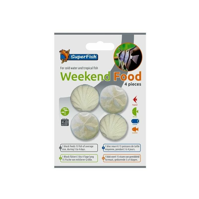 Image of A3060005 - Superfish Weekend Food 4 Pcs