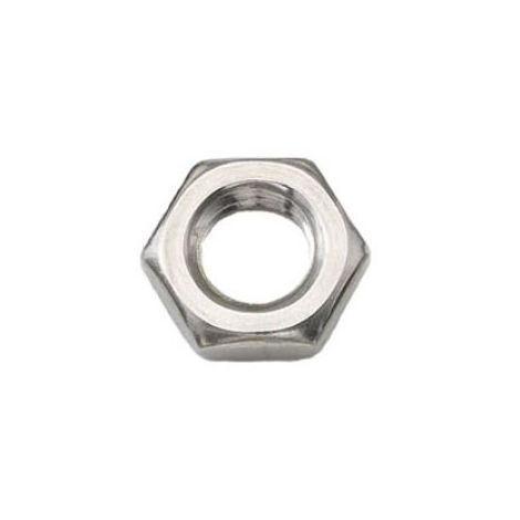 A4 Grade stainless Hexagon half nuts