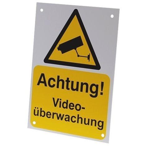 A5 External CCTV Warning Sign (German Language) [002-0534]