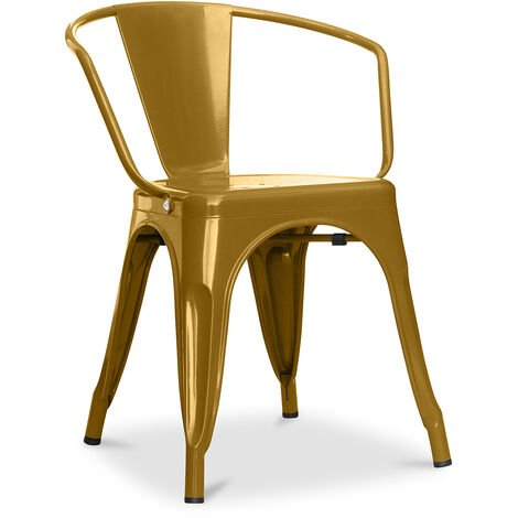 A56 Tolix Armchair Pauchard Style New edition - Metal