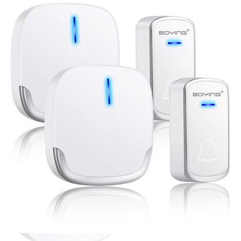 A909 deux pour un gros Dingdong maison ménage intelligent numérique longue distance pharmacie commerciale sonnette sans fil