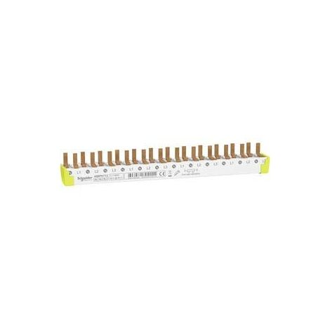 A9X PH712DE COMB BUSBAR BOTTOM CONNECTION, EASY TO CUT, ACTI 9, 3P + N 12MODULES, 80 SCHNEIDER ELECTRIC A9XPH712