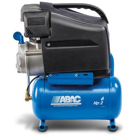 Abac - Compresseur à piston lubrifié 6L 10bar 2CV 13,2 m3/h - START L20