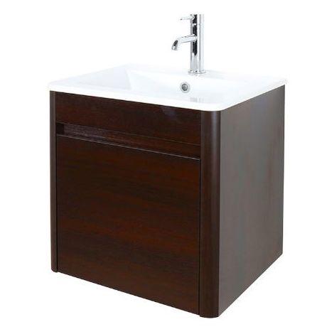 Abacus D-Style 50cm Basin & Vanity Unit Wenge
