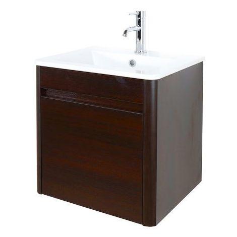 Abacus D-Style 60cm Basin & Vanity Unit Wenge
