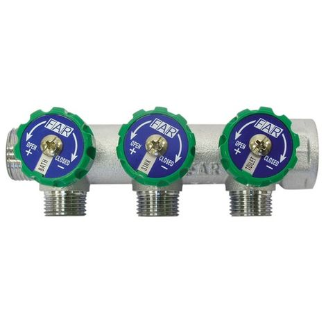 Abacus Easiplan 3 Way Manifold (EPWD-05-0510)