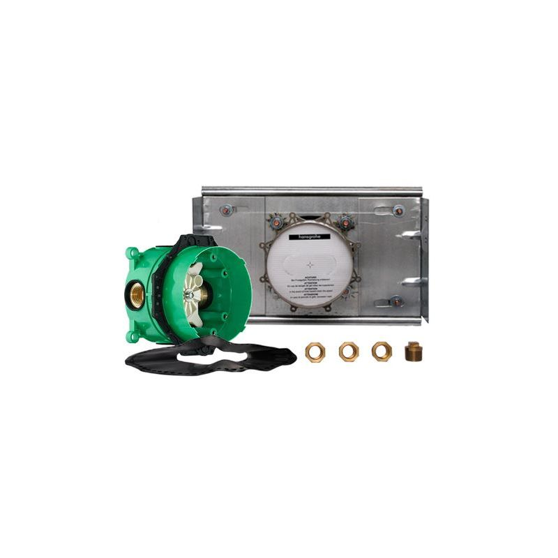 Image of Abacus Easiplan Hansgrohe I-Box Fitting Plate (EPFP-05-2505)