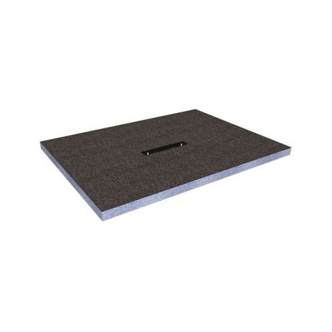 Abacus Elements Square Level Access Shower Tray 30mm High EMLT-25-7509