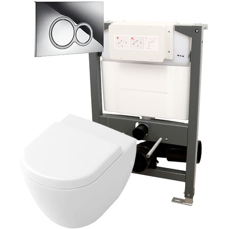 Abacus Essentials Frame & Opaz Compact WC Pack 820I ATFR-KT15-1082
