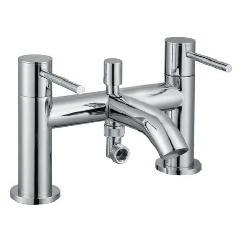 Abacus ISO Chrome Bath Mixer With Handshower TBTS-34-3204