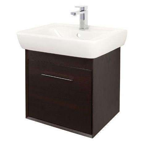 Abacus Simple 55cm Basin Vanity Unit Wenge