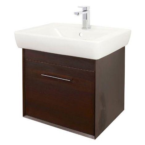 Abacus Simple 60cm Basin Vanity Unit Wenge