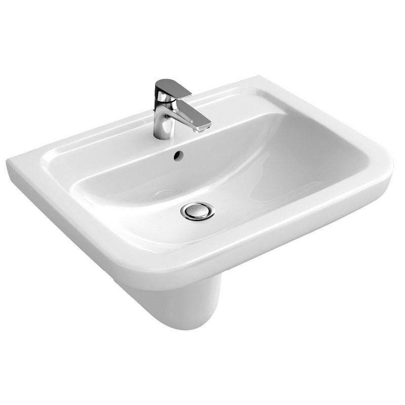 Image of Compact Hand Wash Basin 505 x 400mm VESW-20-3250 - Abacus Vessini