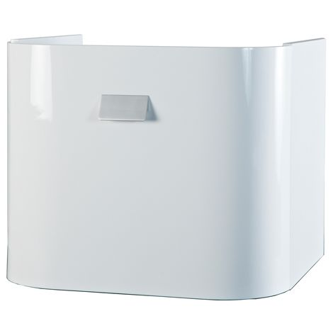 Abacus Vessini Curved under basin cabinet white VEFN-30-3510