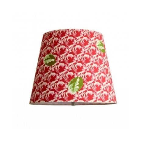 Abat-jour conique 25cm Décoration RED LIGHT