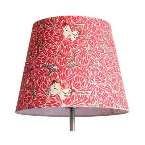 """main image of """"Abat-jour conique 25cm Décoration RED WING"""""""