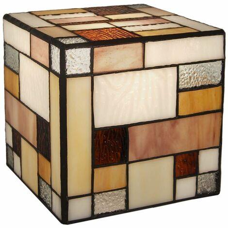 Abat Jour Matrix en vidrio coloreado cm H15xL15xS15 Artedalmondo TP05088