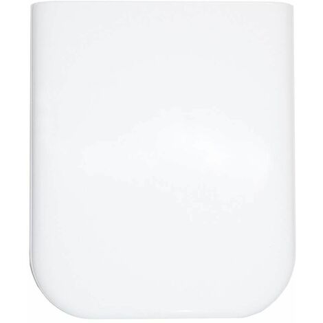 Abattant ALLIA EQUINOX blanc fixations horizontales