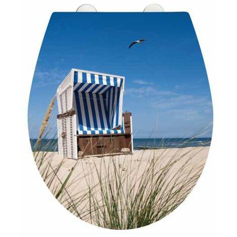 Abattant Cabane de plage Duroplast acrylique WENKO