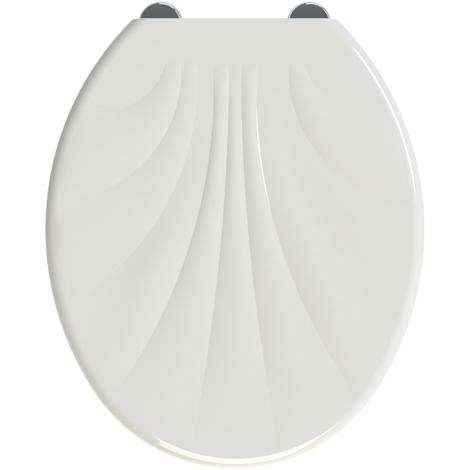 Abattant de toilette antibactérien SHELL