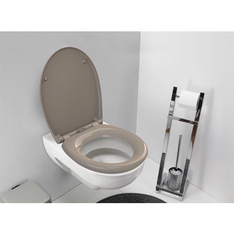 Abattant de toilette avec frein de chute Stan