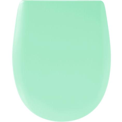Abattant de toilette - Bois Reticule - OLFA - Ariane Aqua Descente Assistee Declipsable - Aqua