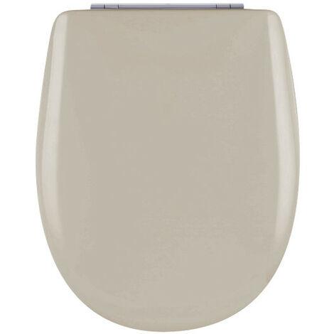 Abattant de toilette - Bois Reticule - OLFA - Ariane Ficelle Descente Assistee Declipsable - Ficelle