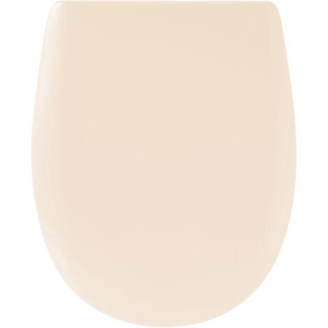 Abattant de toilette - Bois Reticule - OLFA - Ariane Jasmin Mat Descente Assistee Declipsable - Jasmin mat