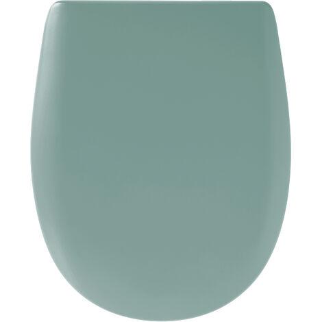 Abattant de toilette - Bois Reticule - OLFA - Ariane Mineral Descente Assistee Declipsable - Minéral