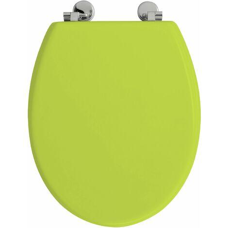 Abattant de toilette BOLIVA en HDF vert