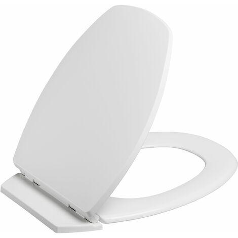 Abattant de toilette déclipsable BACCARA 2 blanc
