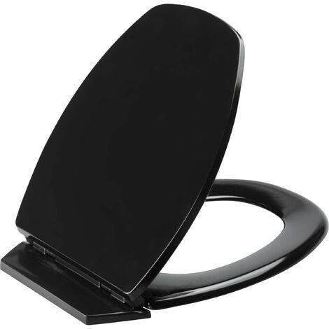 Abattant de toilette déclipsable BACCARA 2 noir