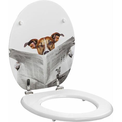 Abattant déco BUSINESS DOG