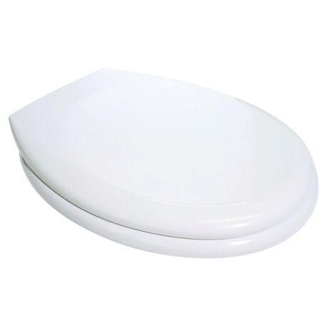 Abattant double blanc RD 2 - Blanc - Blanc