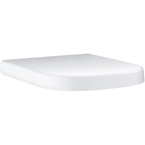 Abattant duroplast Euro Ceramic déclipsable Blanc