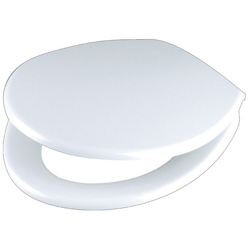 Abattant wc thermo dur bleu marine charnière plastique