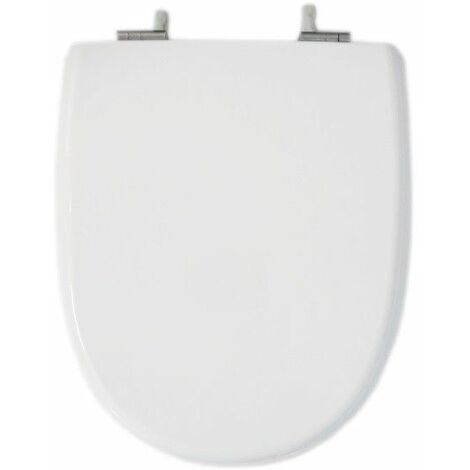 Abattant équivalent Marly 1 SELLES blanc, fixation horizontale