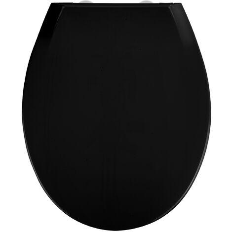 Abattant Kos noir Easy Close Thermoplast